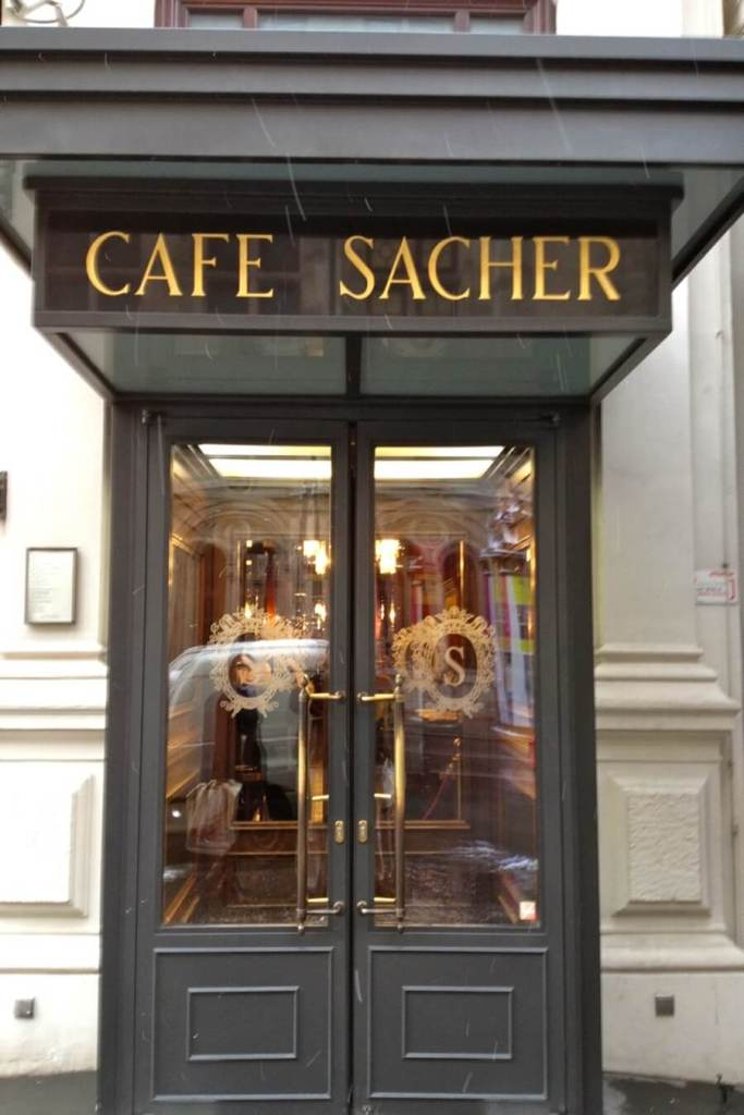 cafeehouses sacher vienna austria