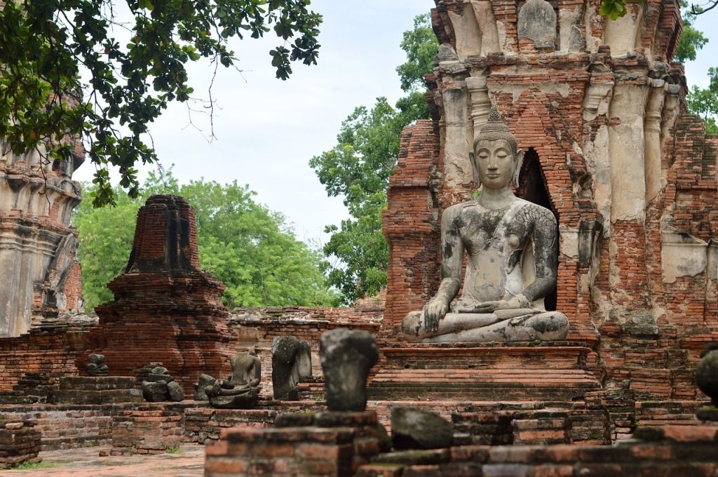 Traditional and Historical Places Ayutthaya in Bangkok Thailand