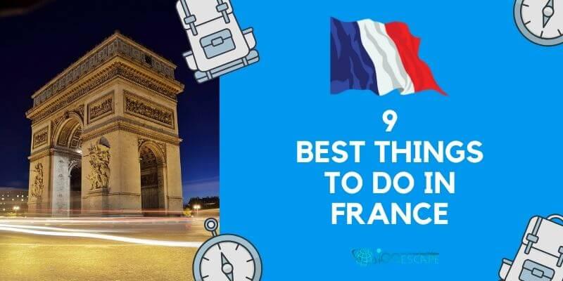 Best Activities in France