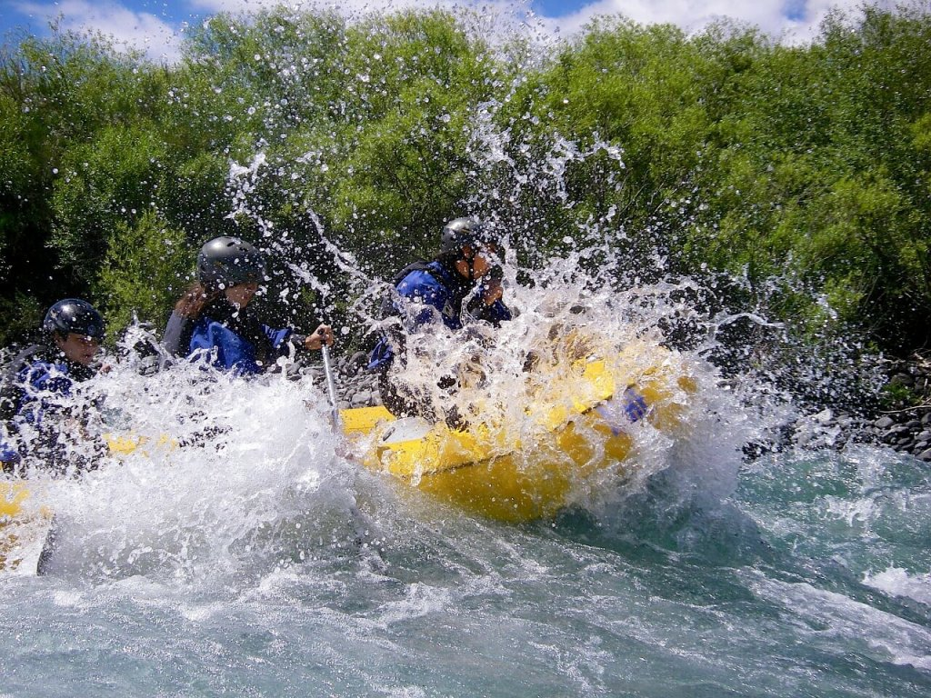 River Rafting Places