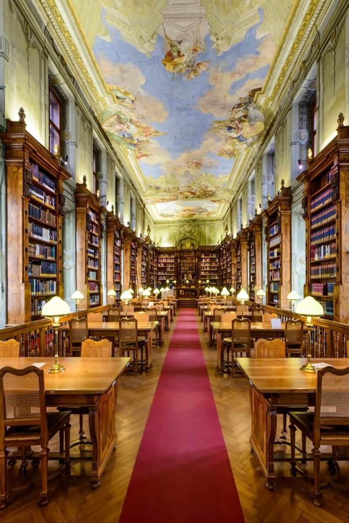 library vienna austria