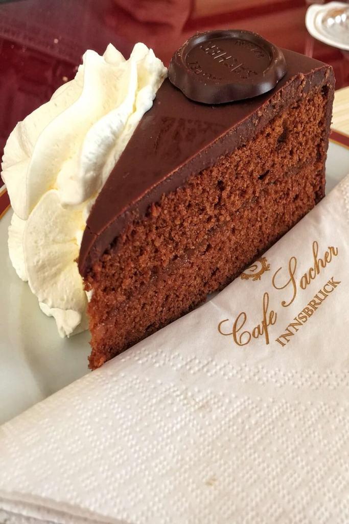 famous sacher torte in vienna