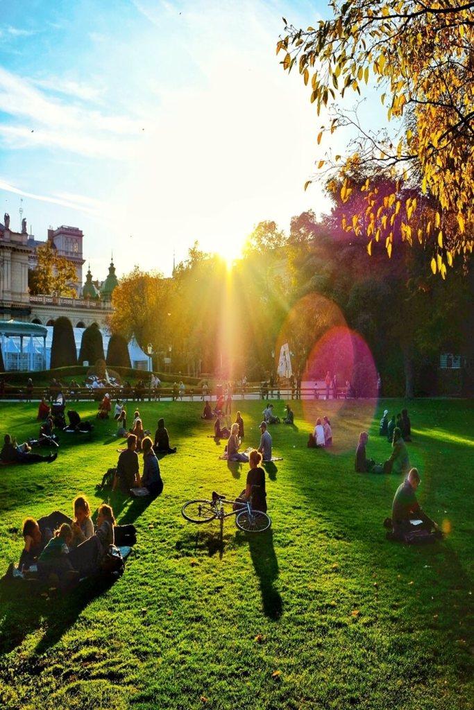 Numerous Parks in Vienna