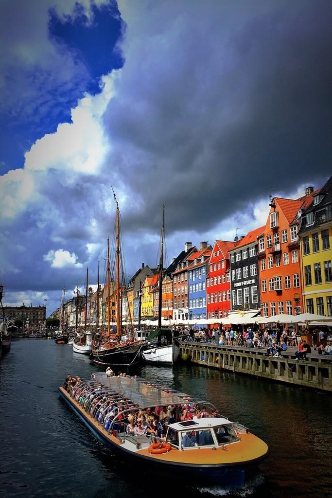 Relaxing in Denmark
