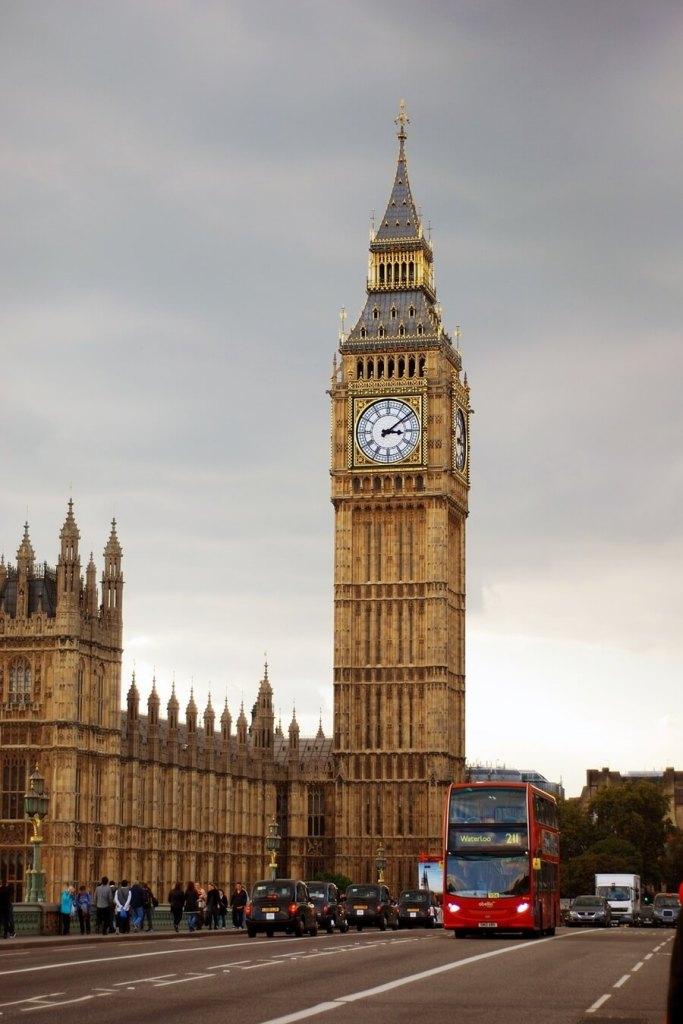 big ben tour in london