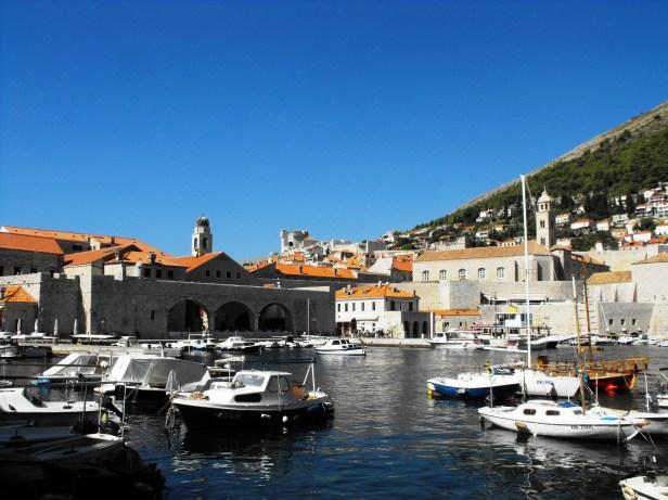 Harbour of Dubrovnik_Dalmatian Island