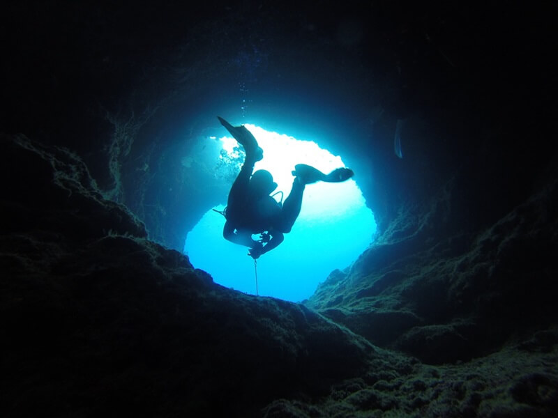 Cave Diving Water Sports